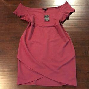 🔵Forever 21 NWT Off Shoulder Dress